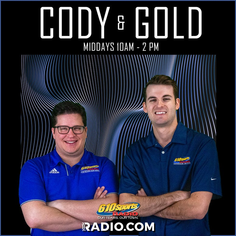 Cody & Gold Weekdays 10am - 2pm