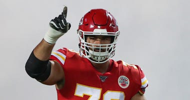 Chiefs guard Laurent Duvernay-Tardif