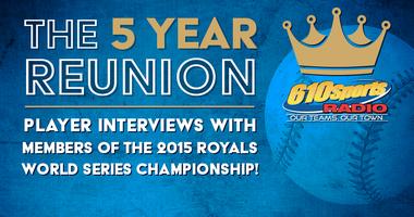 2015 Royals World Series Championship team interviews