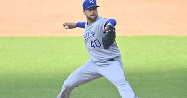 Royals closer Trever Rosenthal