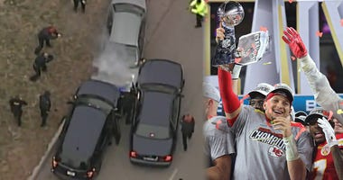 Chiefs Parade Car Chase