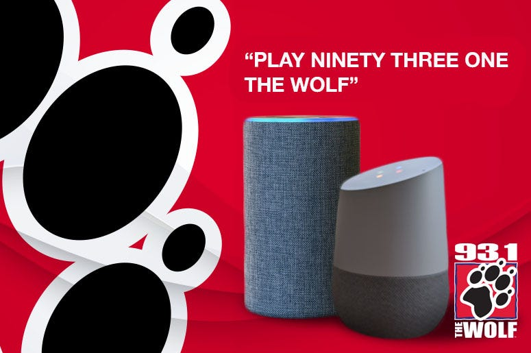 Listen to The Wolf on Smart Speakers