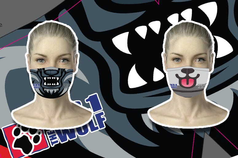 93.1 The Wolf Face Mask