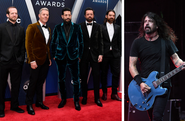 Old Dominion and Dave Grohl