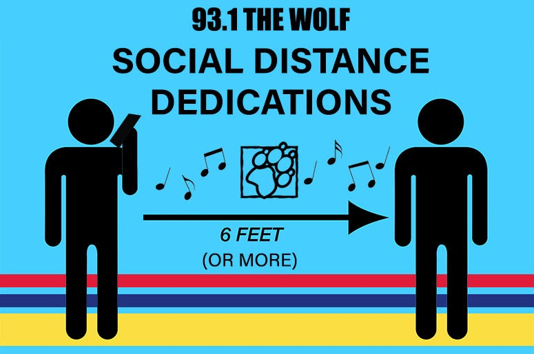 Social Distance Dedications