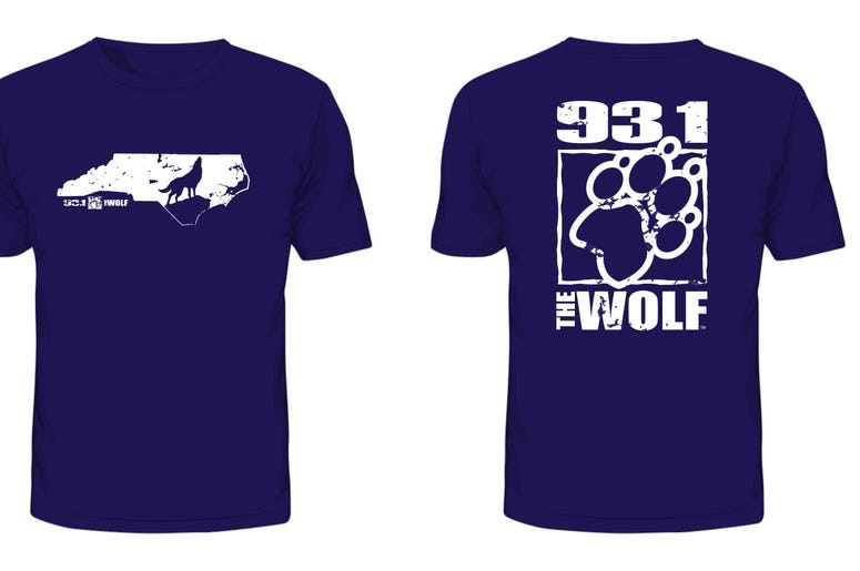 2018 93.1 The Wolf T-Shirt