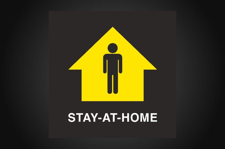 Triad Stay at Home Covid 19 Coronavirus