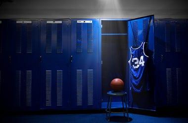 Basketball Locker Room