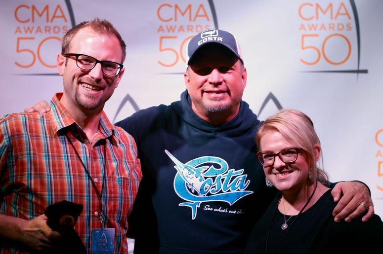 Garth Brooks with Clay & Corie