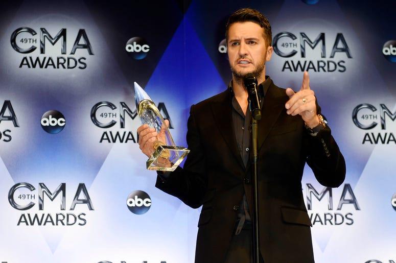 Luke Bryan - CMA Winner