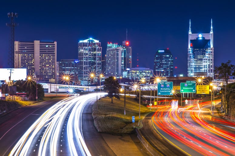 Nashville Night Sky