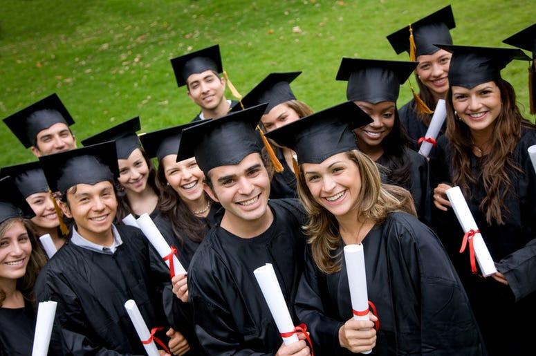 Graduating People