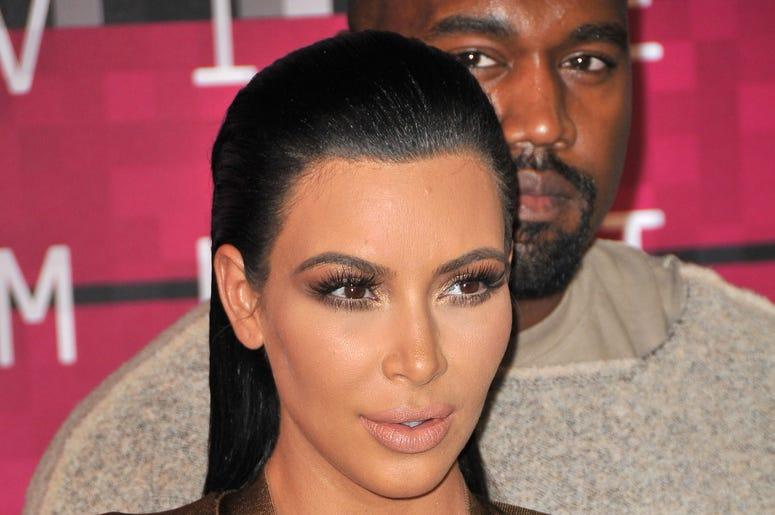 Kim Kardashian at the 2015 MTV Video Music Awards