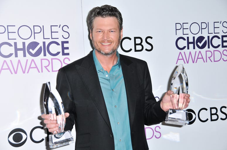 Blake Shelton 2017 People's Choice Awards