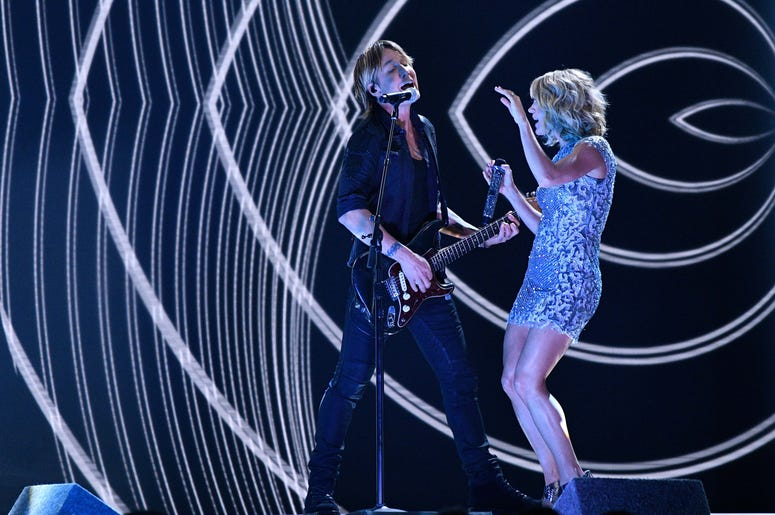 Keith Urband & Carrie Underwood Grammy Awards