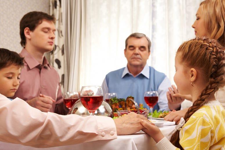 Family Dinner Prayer
