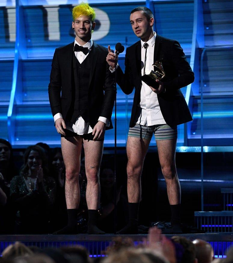 Twenty One Pilots Grammys Pantless