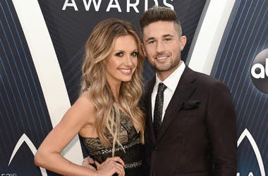 Carly Pearce and Michael Ray at the 52nd Annual CMA Awards