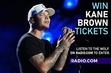 WIN Kane Brown Tickets - listen to 93.1 The Wolf on RADIO.COM and get entered