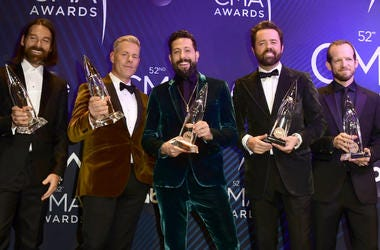 Geoff Sprung, Trevor Rosen, Matthew Ramsey, Brad Tursi and Whit Sellers, Old Dominion