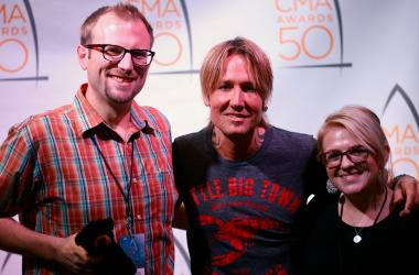 Keith Urban with Clay & Corie