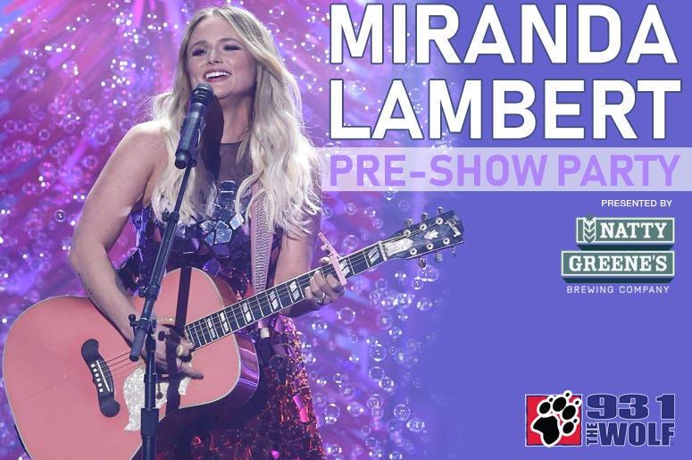 Miranda Lambert Pre-Show Party