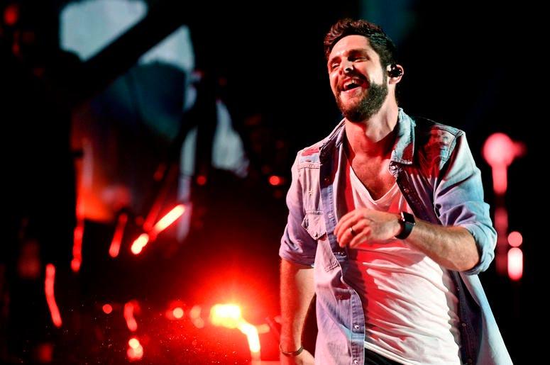 Thomas Rhett performs during the 2018 CMA Music Festival