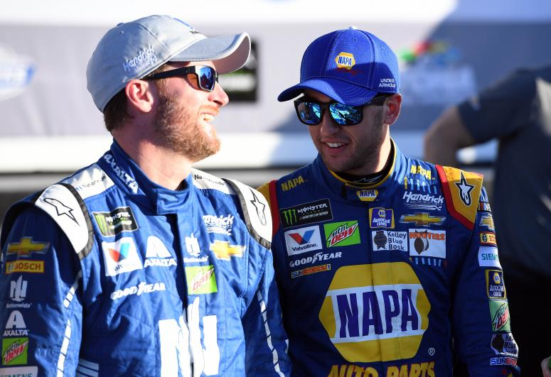 Dale Jr and Chase Elliot