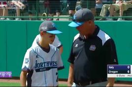 Coach Tells Son He Loves Him During Little League World Series Game