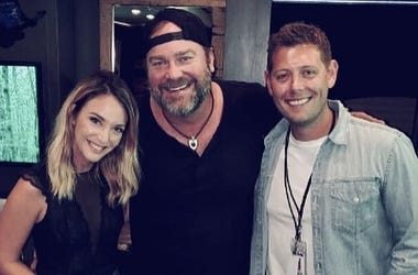 Lee Brice and Marty