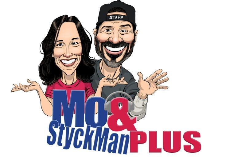 Mo and StyckMan cartoon