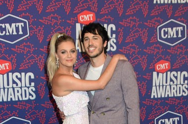 05 June 2019 - Nashville, Tennessee - Kelsea Ballerini, Morgan Evans. 2019 CMT Music Awards held at Bridgestone Arena. Photo Credit: Dara-Michelle Farr/AdMedia/Sipa USA