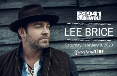 Lee Brice at Graceland