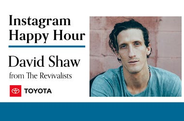 David Shaw, The Revivalists, Instagram Happy Hour, 94/7 Alternative Portland, KNRK-FM