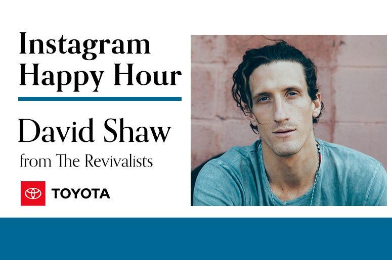 David Shaw, The Revivalists, Instagram Happy Hour, 94/7 Alternative Portland, KNRK-FM