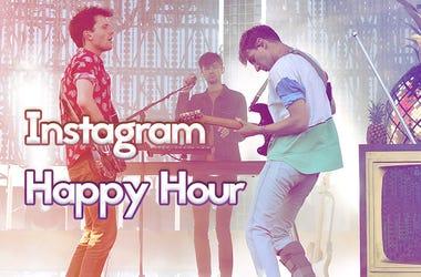 Glass Animals, Instagram Happy Hour