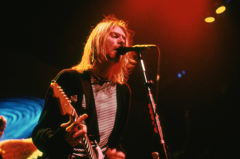 Kurt Cobain of Nirvana