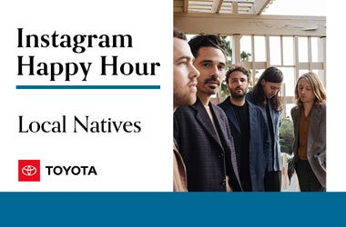 Local Natives, Instagram Happy Hour, 94/7 Alternative Portland, KNRK-FM
