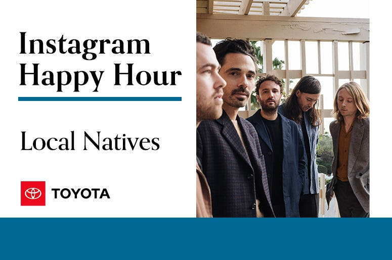 Local Natives, Instagram Happy Hour, 94/7 Alternative Portland, KNRK-FM