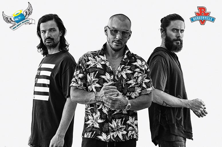30 seconds to mars walk on water free download
