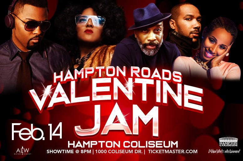 Hampton Roads Valetines Day Jam
