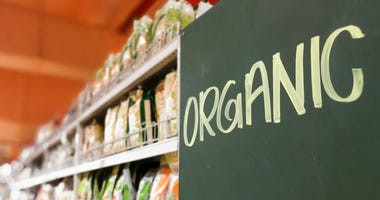 Organic Sign Grocery Store (Photo credit: ©Keechuan)