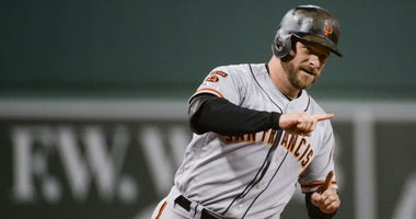 Stephen Vogt pens goodbye to Giants, fans