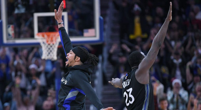 Damion Lee signs multiyear deal with Warriors