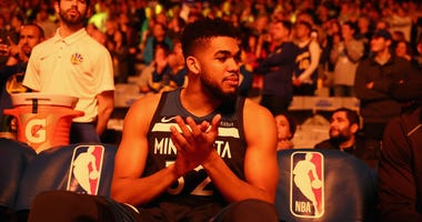 "Warriors ""monitoring"" Karl-Anthony Towns"
