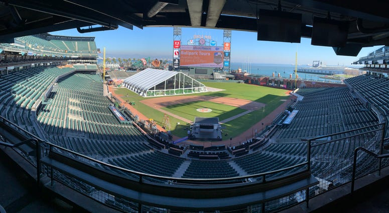 It's a whole new world at Oracle Park, I just wish I could tell you why