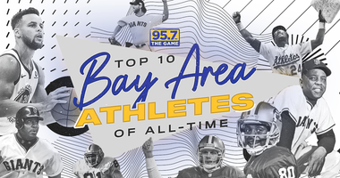 95.7 The Game's Top 10 List of All-Time Athletes