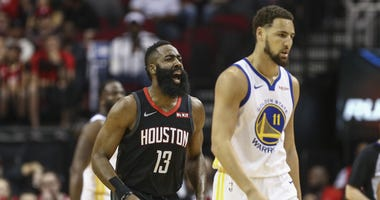 Sports Illustrated 'boldy predicts' James Harden to Warriors