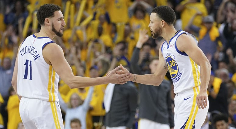 Klay Thompson, Stephen Curry