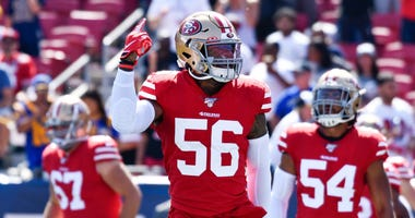 Kwon Alexander returns to 49ers practice